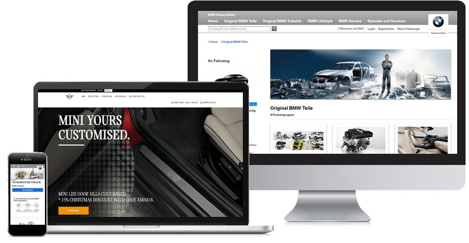 BMW Online Shop